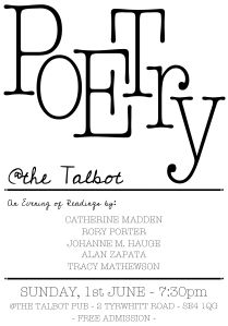 POETRY AT THE TALBOT